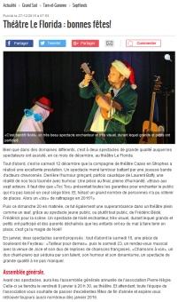 c'est bientot noel theatre 2015