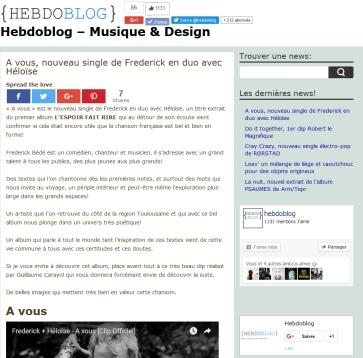 HebdoBlog
