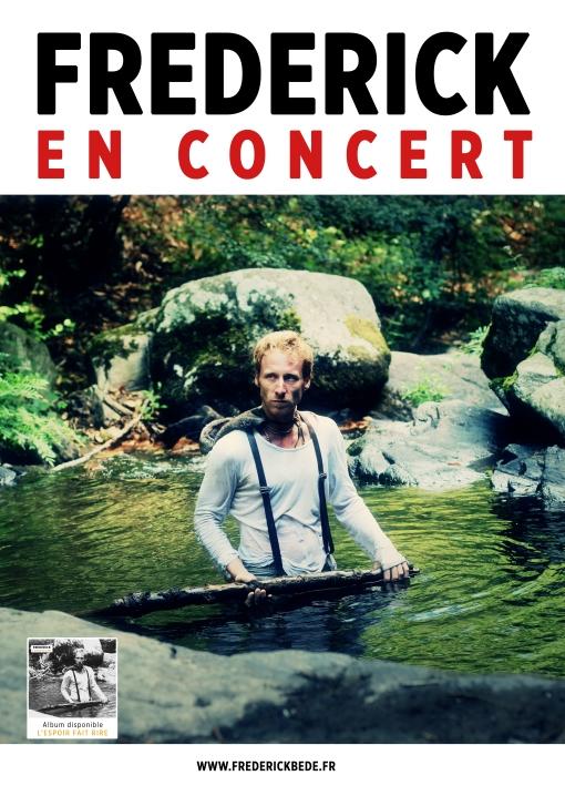 Affiche concert rvb