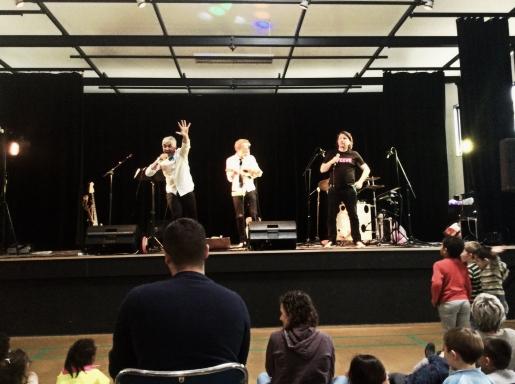 Les 3 Triplés : Concert Jeune Public