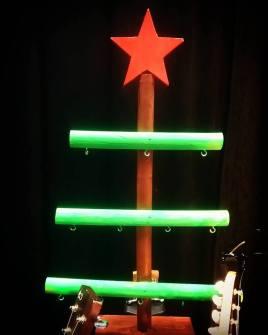 """Le sapin du spectacle """"Les 7 Devinettes de Noël"""""""